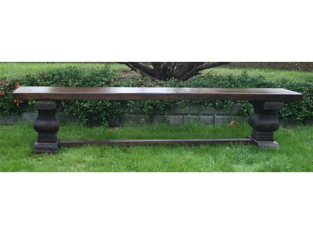 Lavice teak 214x39x47cm