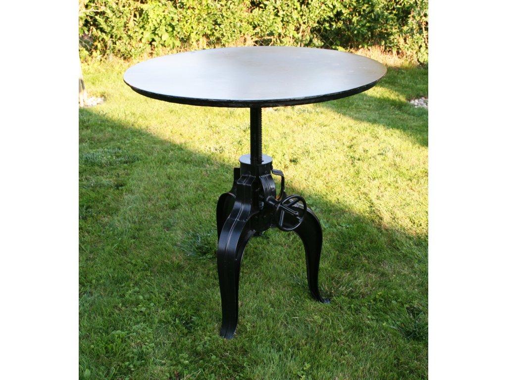 Teleskopický stůl průměr 92cm