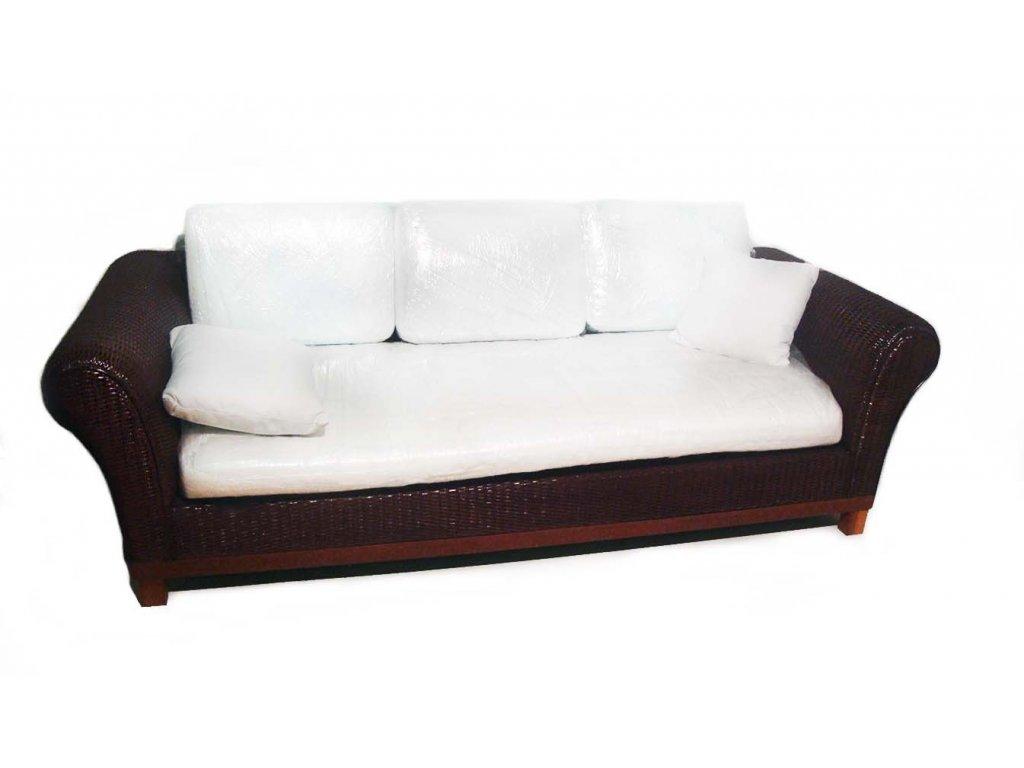 Sofa Ratan 230x92x67cm