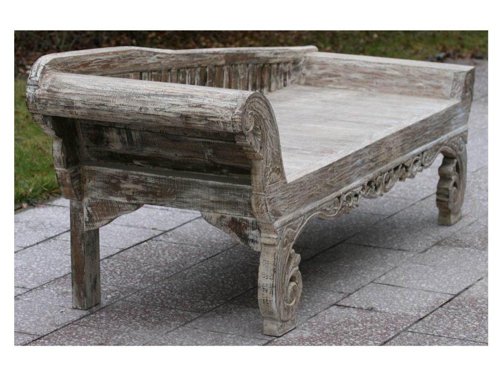 Balijská lavice - sofa teak 215x70x83cm