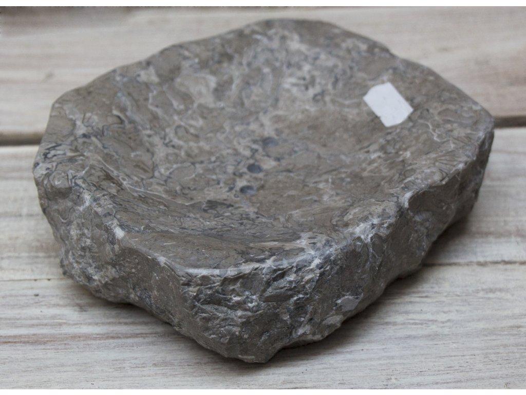 Kamenná mýdlenka 15x15cm
