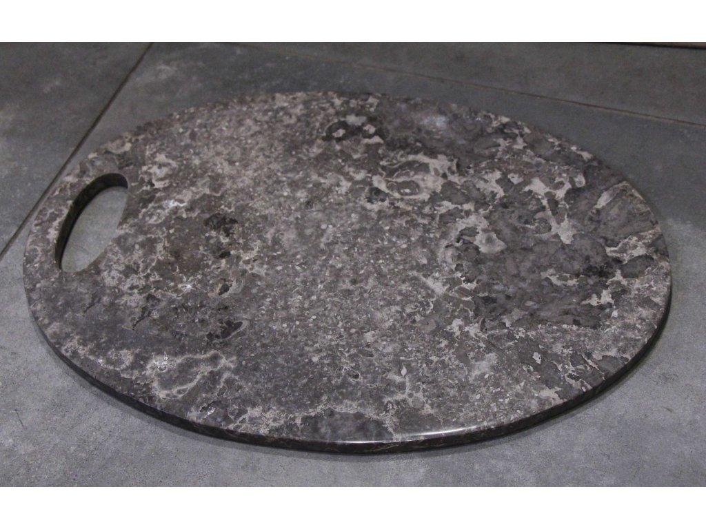 Kuchyňské krájecí prkénko - mramor šedý 33x23cm
