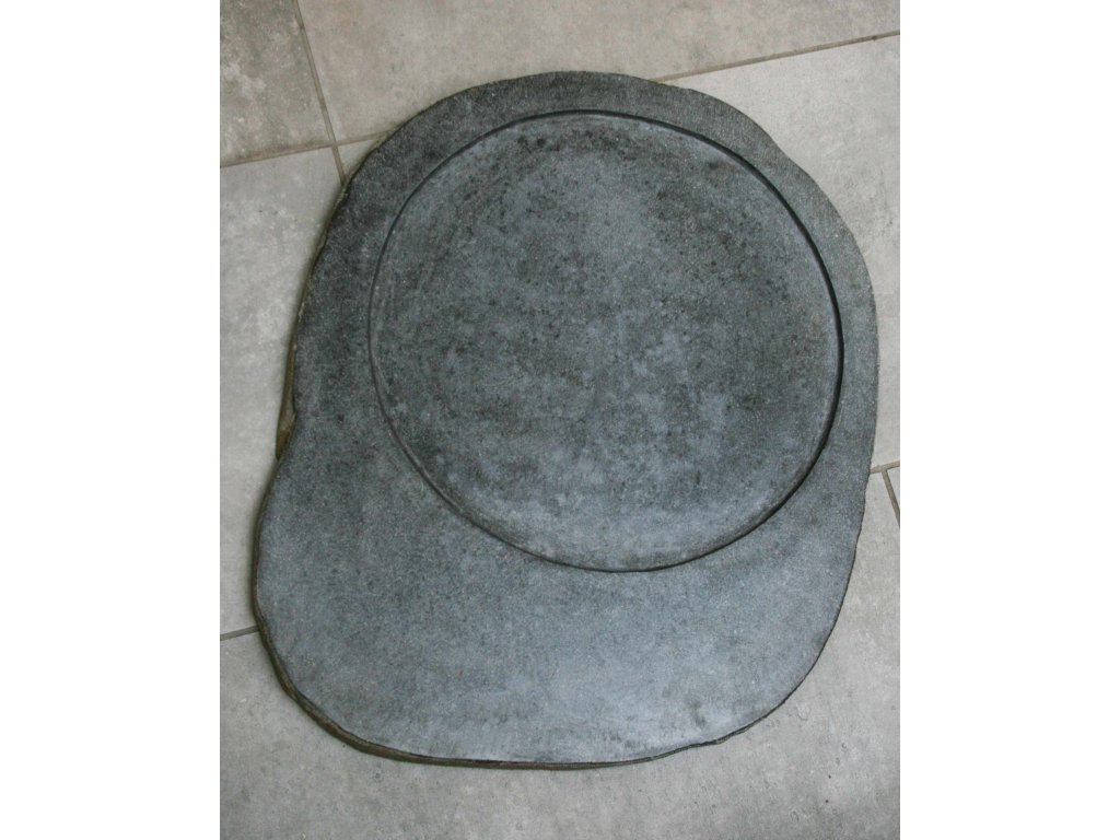 Kuchyňský kamenný talíř - servírovací podnos 50x37cm