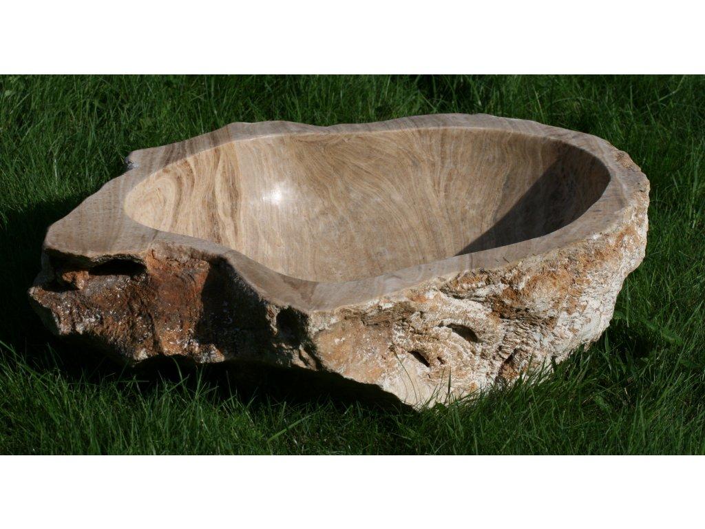 Kamenné umyvadlo onyx U1 58x43 cm