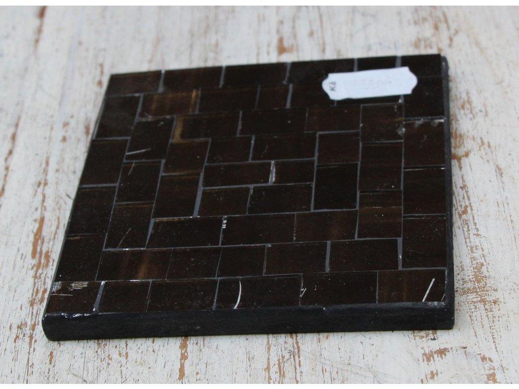 Podtácek vykládaný sklíčky 10x10 cm