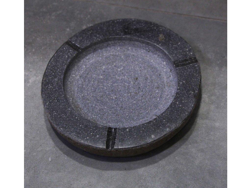 Popelník říční kámen průměr 18-21cm