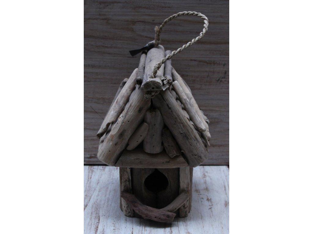 Ptačí budka vyplavené dřevo 23cm