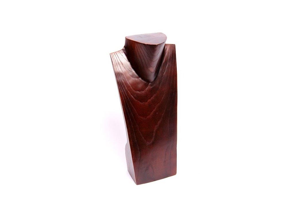 Dřevěný stojan - torzo na šperky KP 40cm