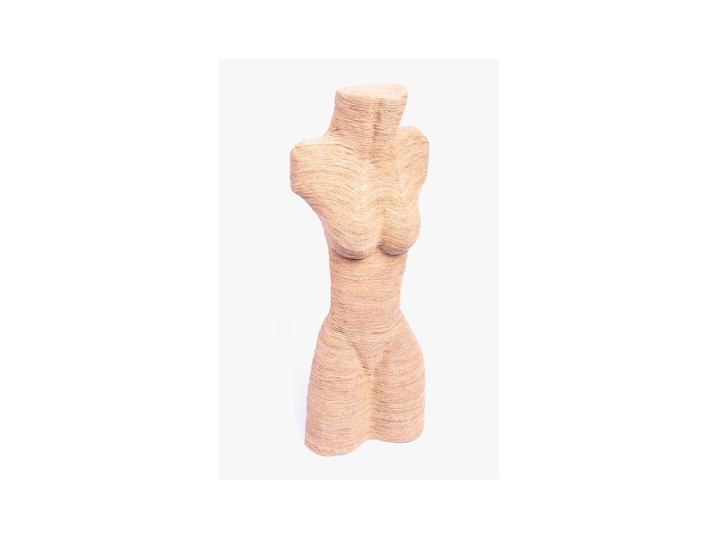 Dřevěný stojan na šperky string 50cm