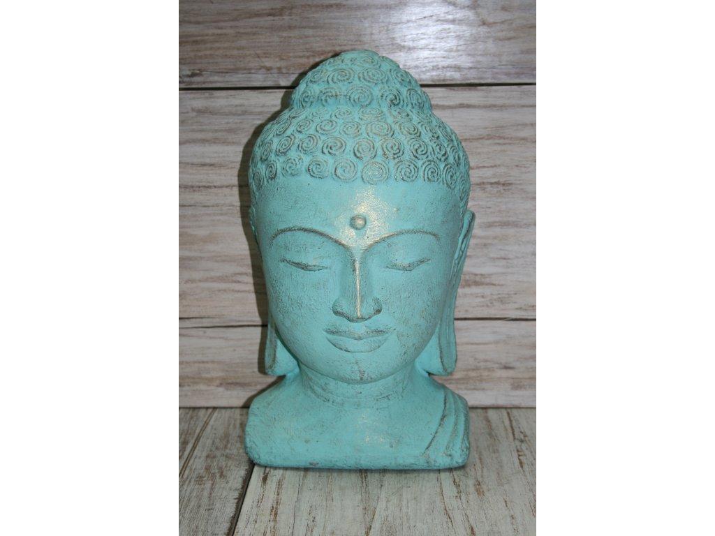 Socha Budha Buddha  torzo 45cm patina TG