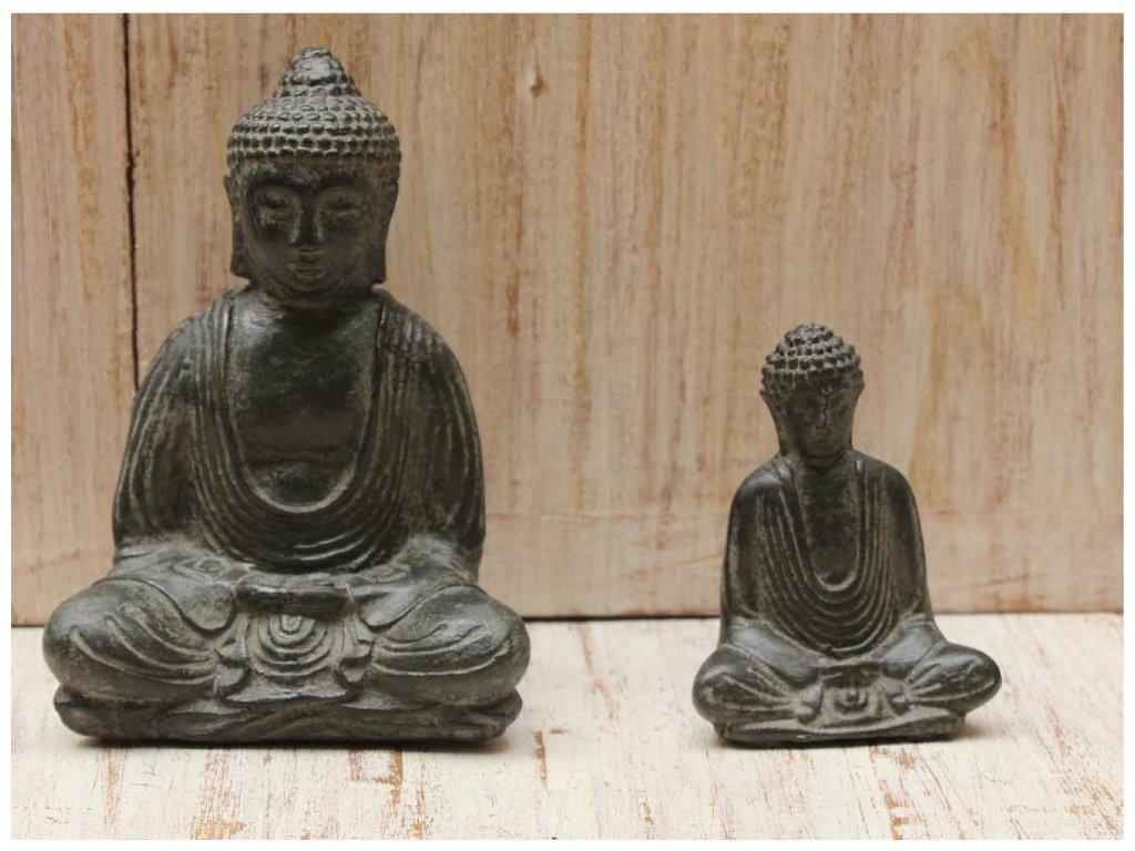 Socha Budha Buddha 15cm patina DG