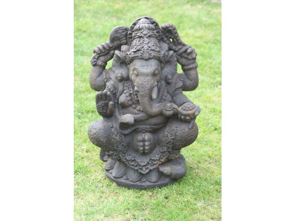Socha Ganesha 60cm - Model B patina DB