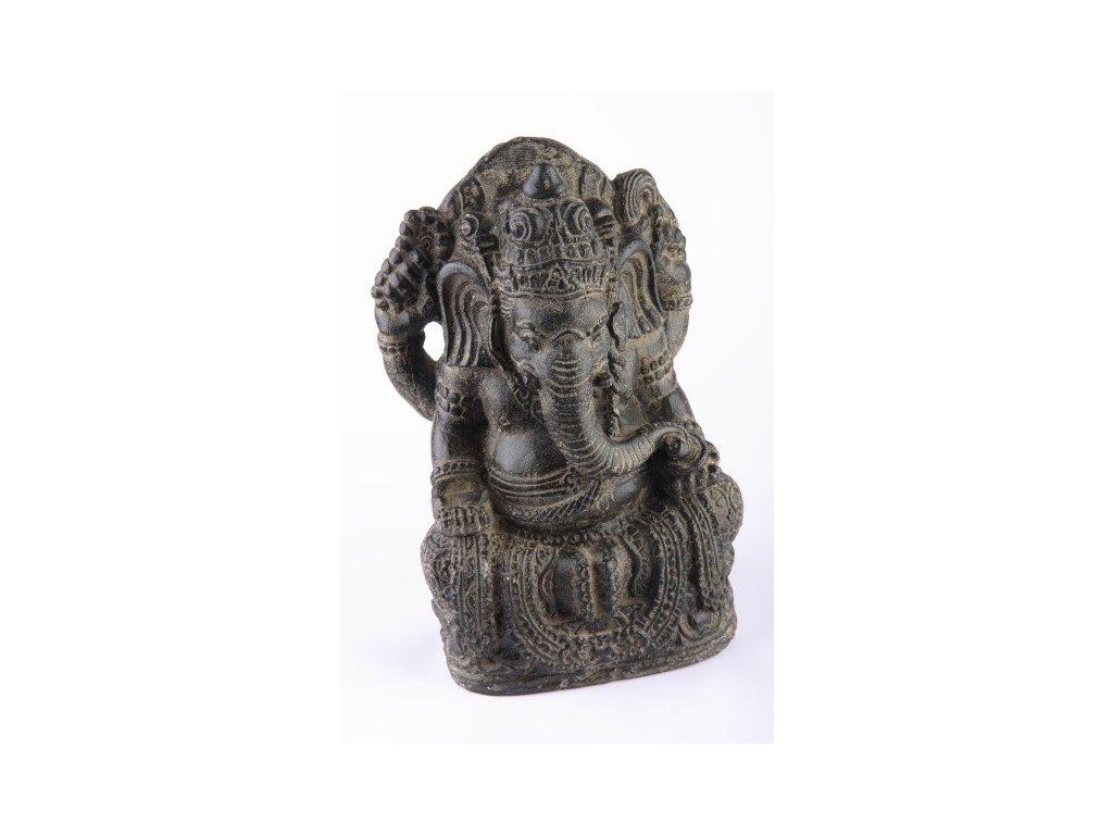 Socha Ganesha 35cm patina DG