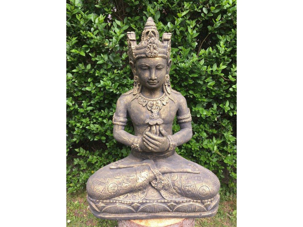 Socha Brahma 60cm - patina DBG