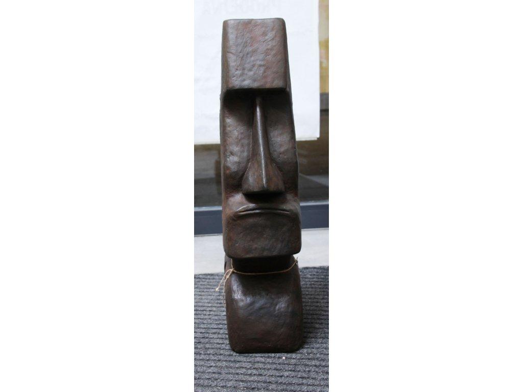Socha Moai Velikonoční ostrovy 80cm patina DB