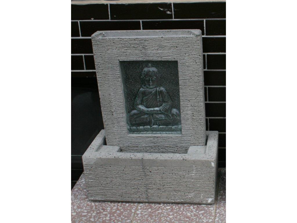 Fontána Budha Buddha vodní stěna 65cm
