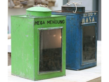Retrolampa Krupuk 24x24x44cm Mega Mendung