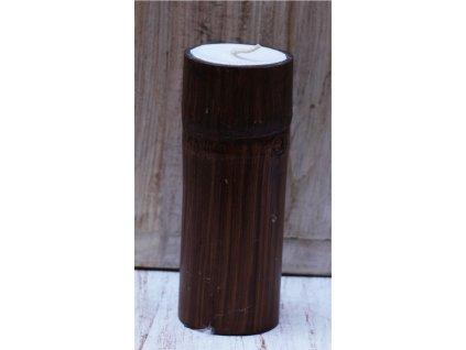 Bambusový svícen Antik 20cm