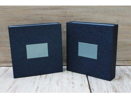 Šperkovnice - dárková krabička 17x17x4cm