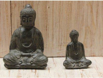 Socha Budha Buddha 10cm patina DG