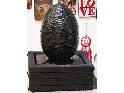 Fontána vajíčko 40cm patina DB