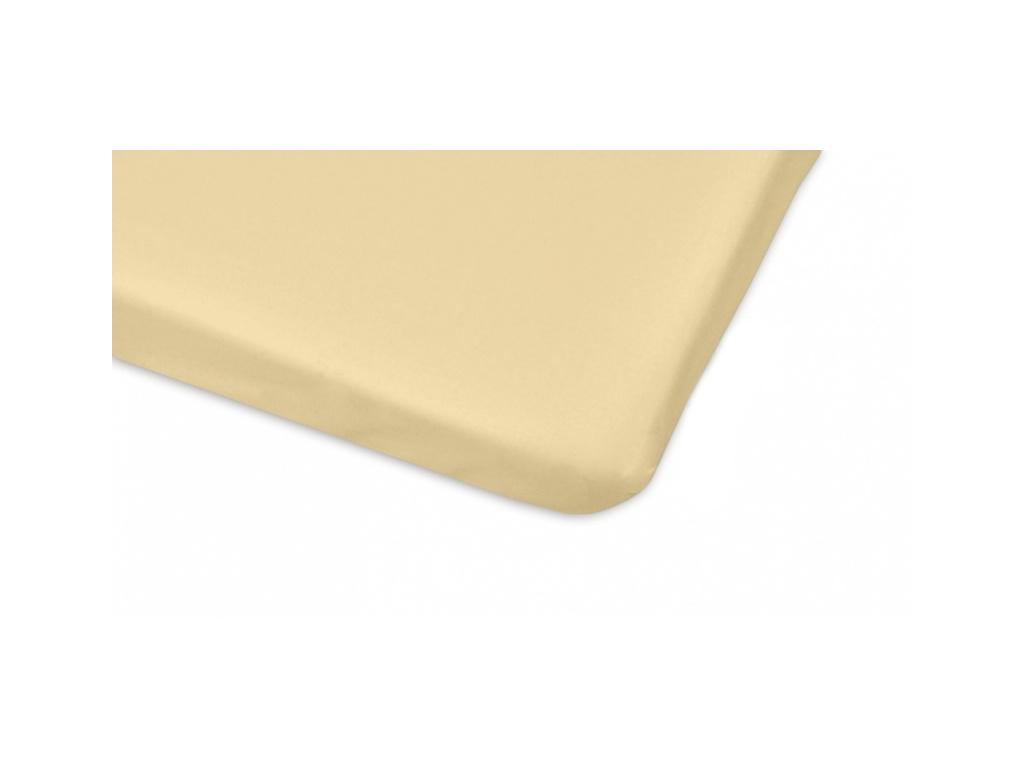 Mamo Tato Bavlněné prostěradlo 60x120cm - béžová - 120x60