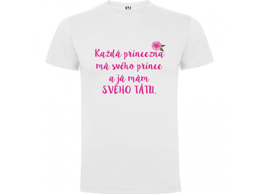 Dětské tričko Dogo premium bíle