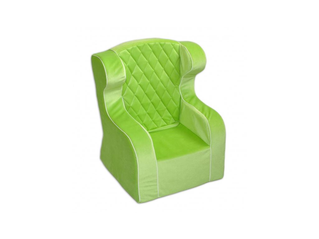 NELLYS Dětské křesílko/ušák - zelené