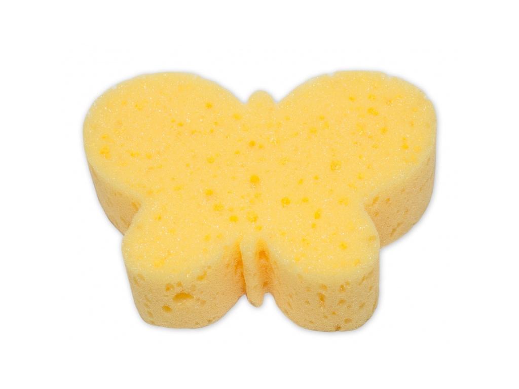 Cleanex Dětská koupelová houba - zvířátko, žlutá