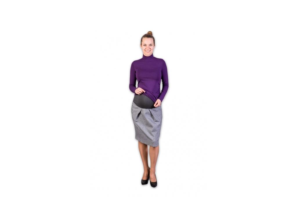 Gregx Těhotenská vlněná sukně
