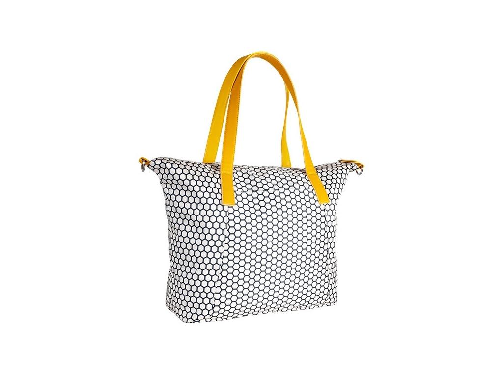 Canpol babies Přebalovací taška ke kočárku - modrá/plaster