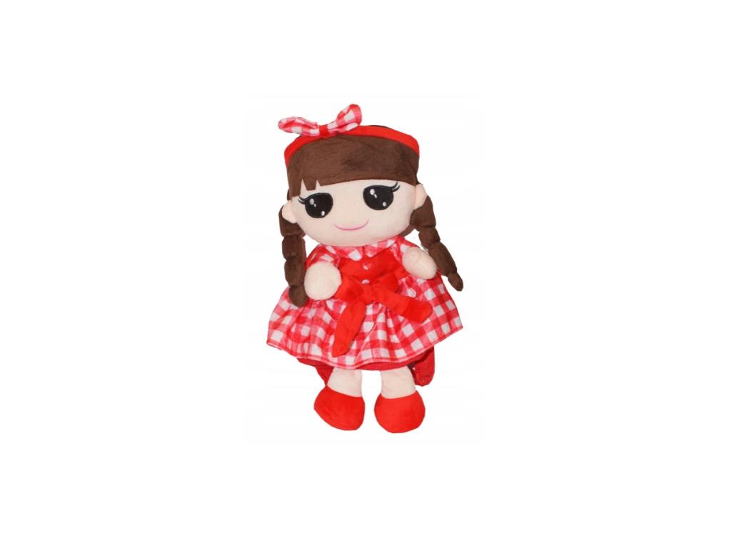 Tulilo Dětský batůžek panenka Kajka - červený