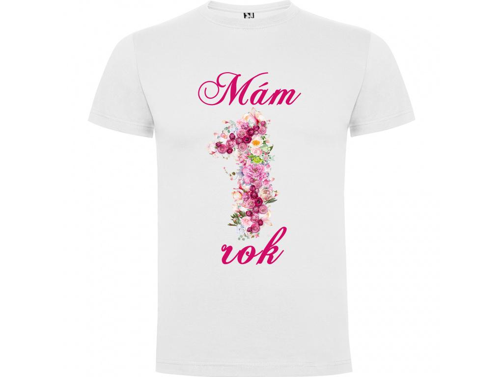 Dětské tričko - Mám jeden rok