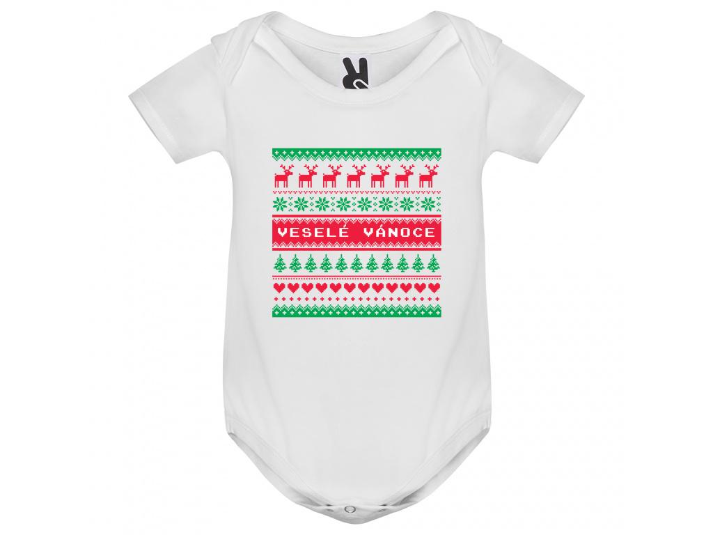 Dětské body - Veselé Vánoce