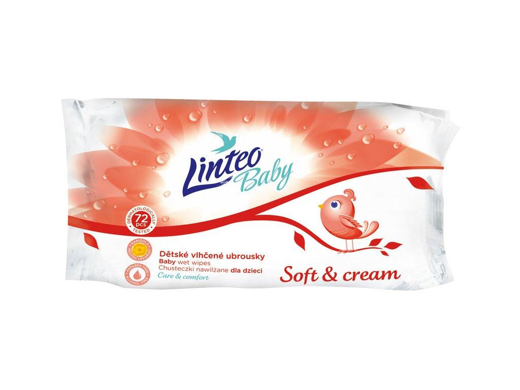 142 vlhcene ubrousky soft and cream
