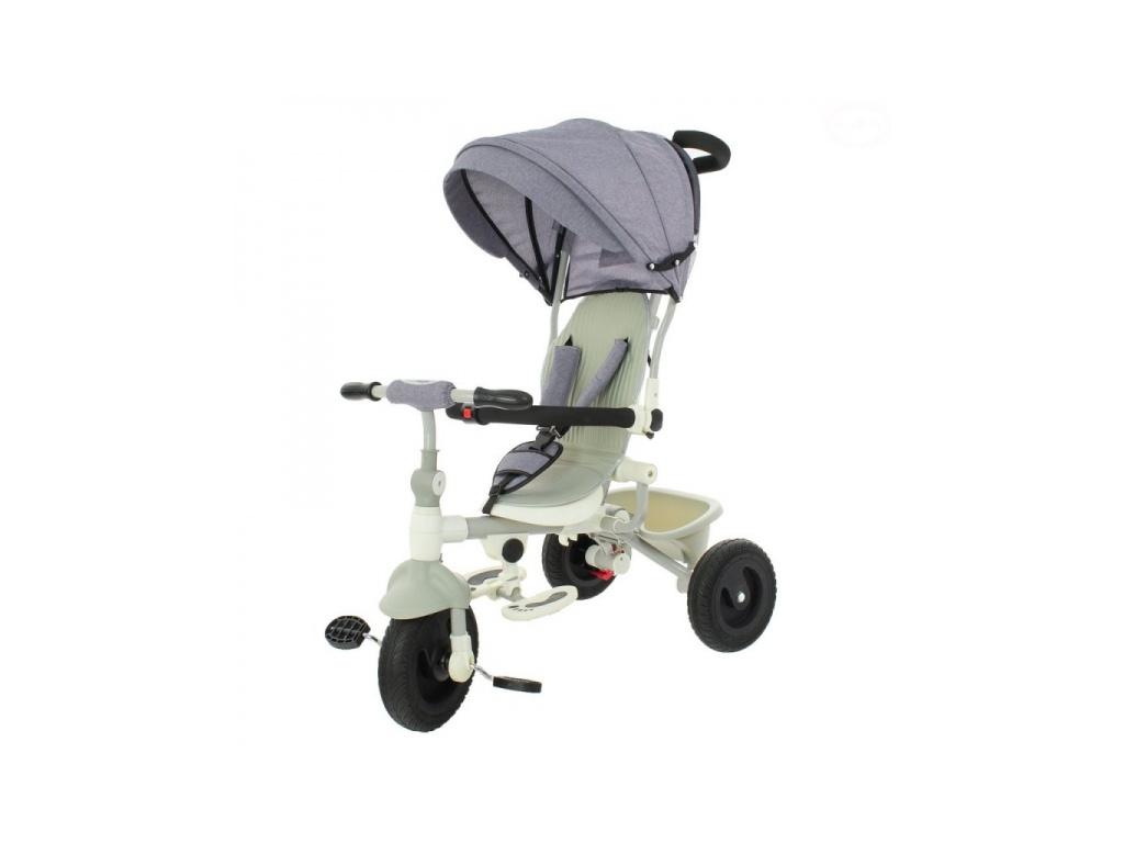 Dětská tříkolka Euro Baby 2019 - šedá