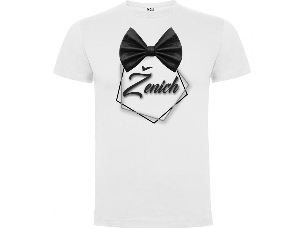 Pánské tričko - Ženich (Velikost 7) 4XL)