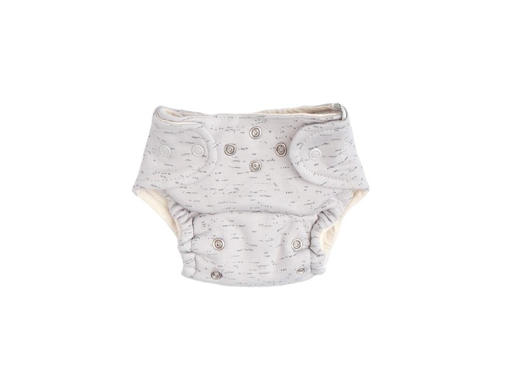 Mamatti Látková plenka EKO sada - kalhotky + 2 x plenka, vel. 5 - 14 kg, Star - 5 - 14 kg