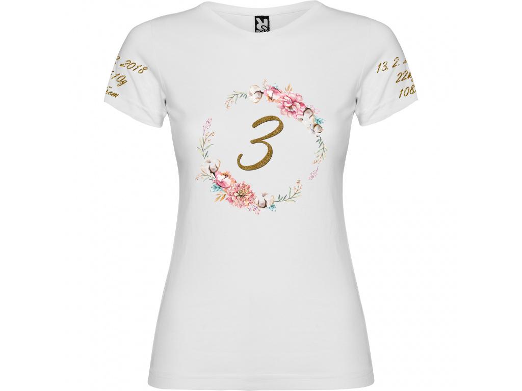 Dívčí tričko - Narozeninové