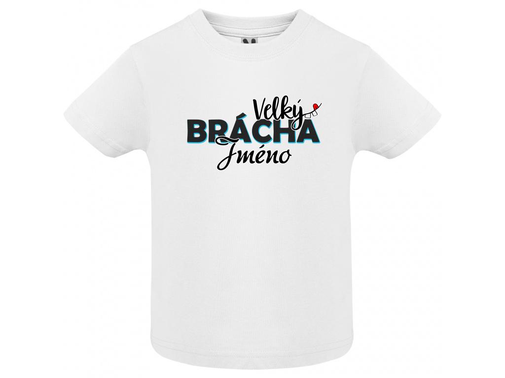 Dětské tričko - Velký brácha jméno