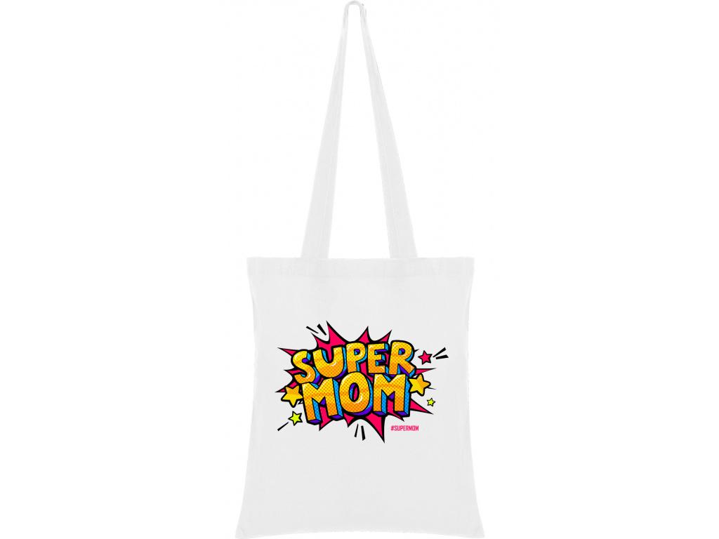 Látková taška - SUPER MOM