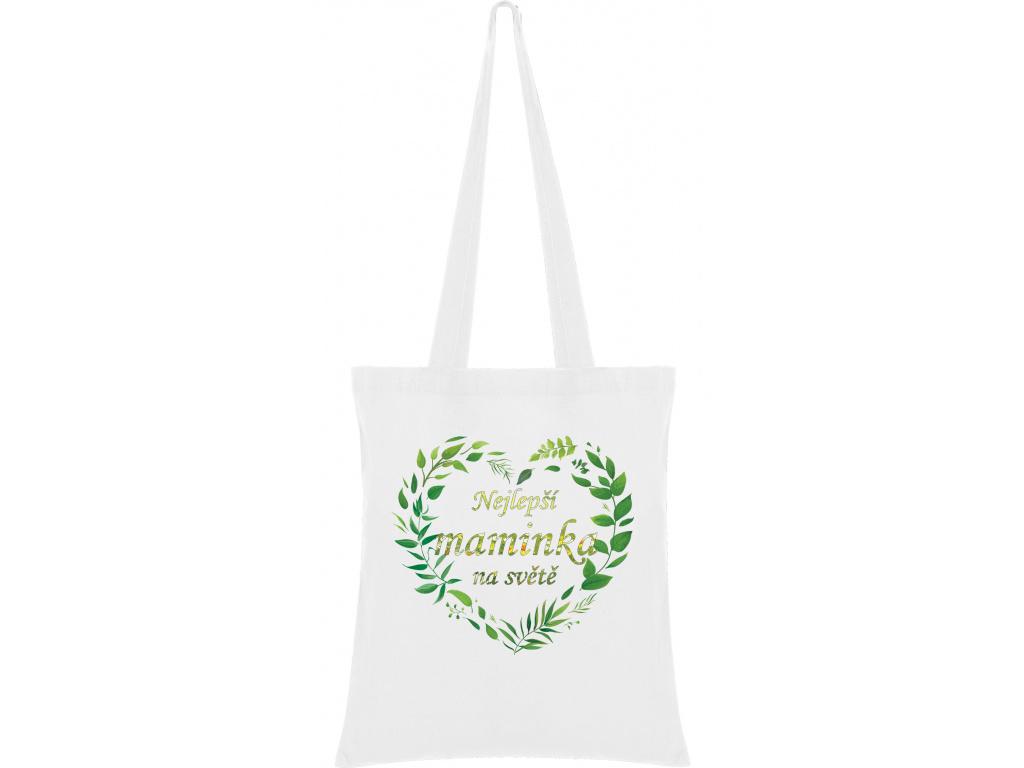 Látková taška - Nejlepší maminka na světě 2