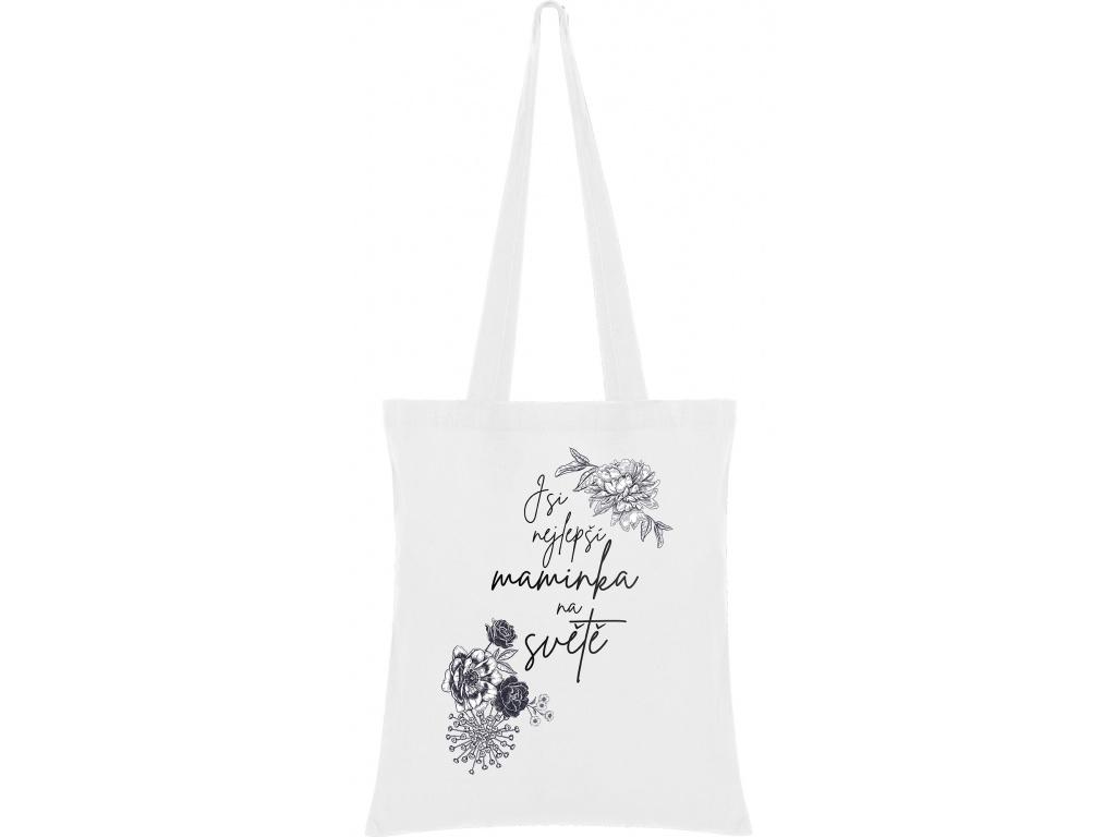 Látková taška - Jsi nejlepší maminka na světě
