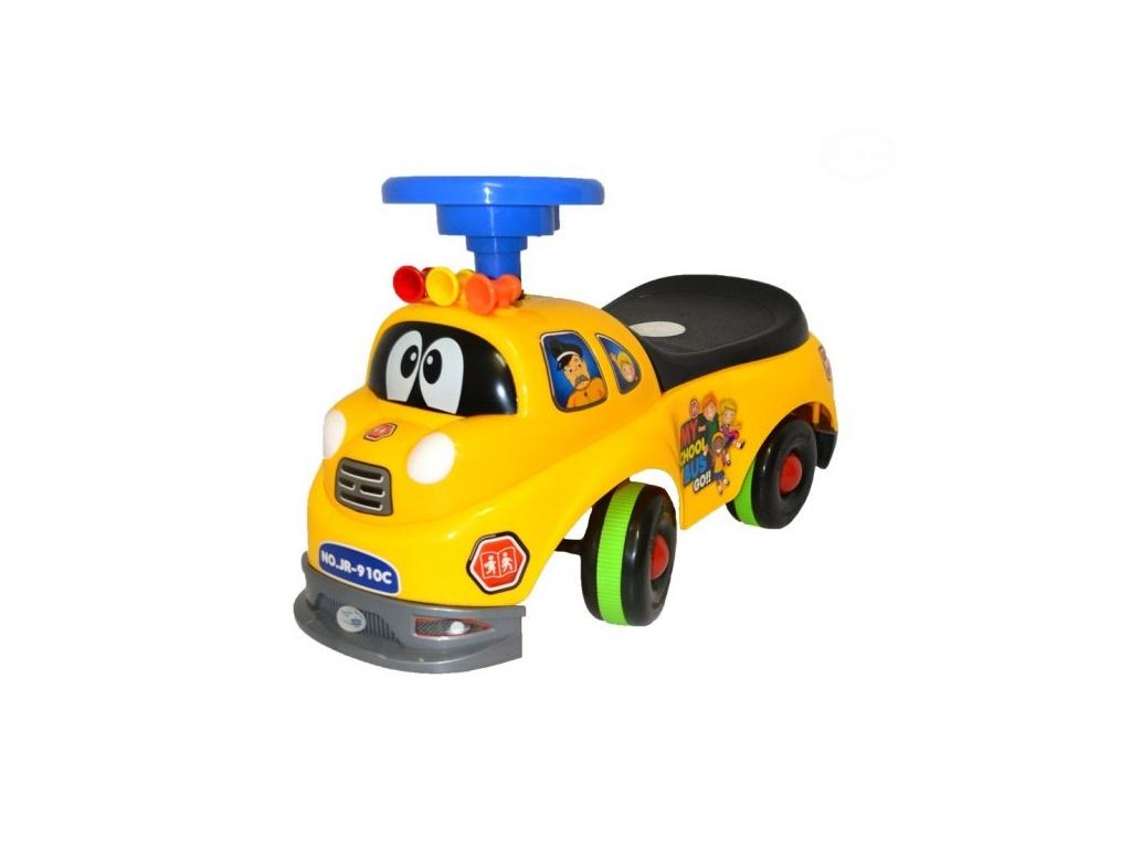 Euro Baby Odstrkovadlo,odrážedlo, jezdítko - HASIČ - žlutý
