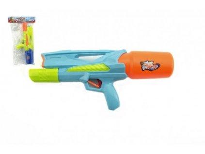 Vodní pistole plast 33cm asst 2 barvy v sáčku