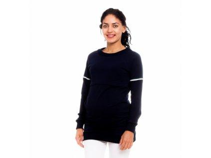Be MaaMaa Těhotenské, kojící tričko/mikina Lynet