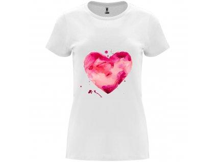 Dámské tričko - Srdce