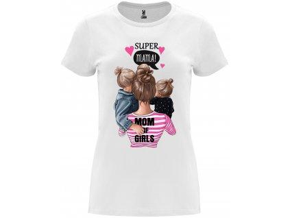 Dámské tričko - Supermama