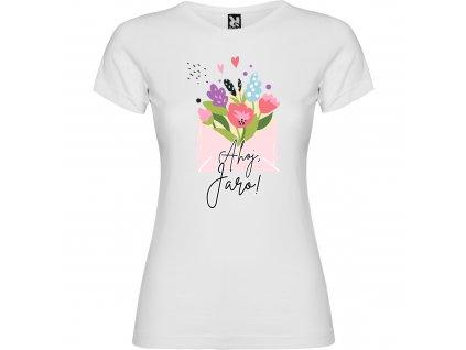 Dívčí tričko - Ahoj, jaro!