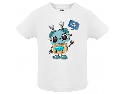 Dětské tričko - Robot